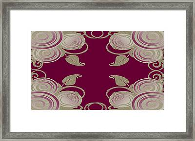 Wall Flower 3 Framed Print by Evelyn Patrick