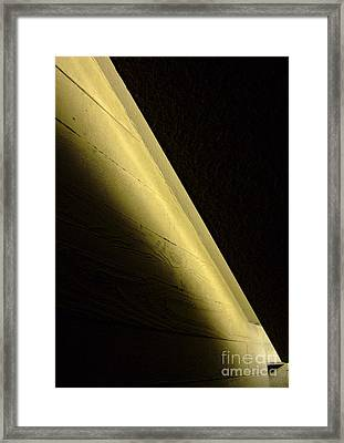Wall Light Framed Print by Richard Allen