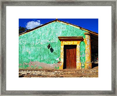 Wall Of Sun By Darian Day Framed Print by Mexicolors Art Photography