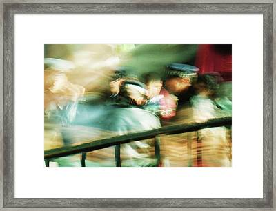 Wall Street 2 Framed Print by Brad Bixler
