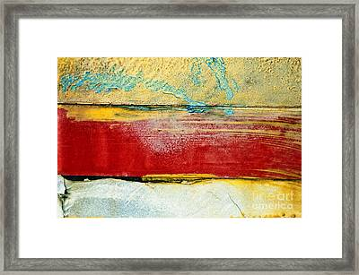 Wall Strip Framed Print by Ray Laskowitz - Printscapes