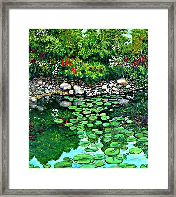 Wallingford Pond Framed Print by Will Lewis