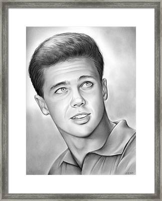 Wally Cleaver Framed Print by Greg Joens