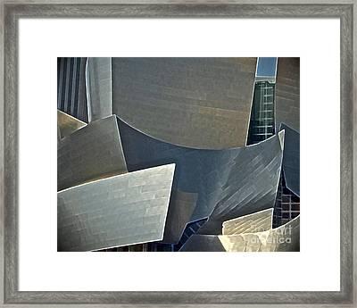 Walt Disney Concert Center Framed Print by Gwyn Newcombe