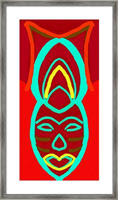 Wand Wing Framed Print by Babatunde Kayode