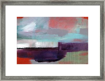 Wanderlust 22- Art By Linda Woods Framed Print by Linda Woods