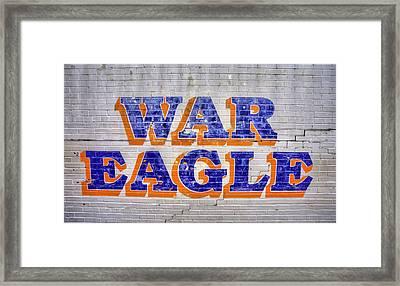 War Eagle Framed Print by JC Findley