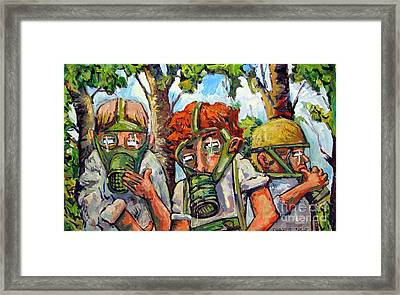 War Games Framed Print by Charlie Spear