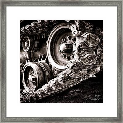 War Machine Framed Print by Olivier Le Queinec