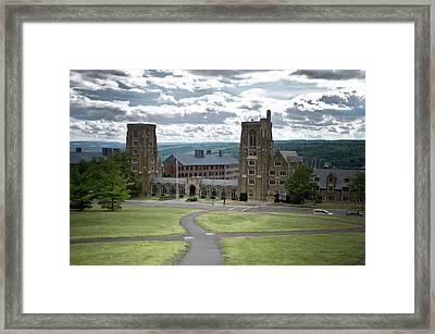 War Memorial Lyon Hall Cornell University Ithaca New York 02 Framed Print by Thomas Woolworth