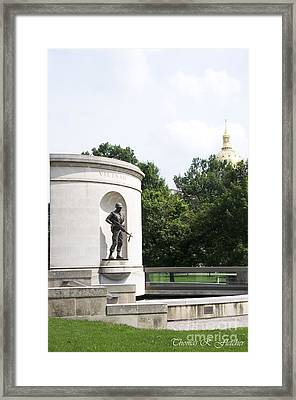 War Memorial Framed Print by Thomas R Fletcher