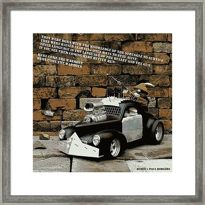 Warboys Framed Print by Piggy