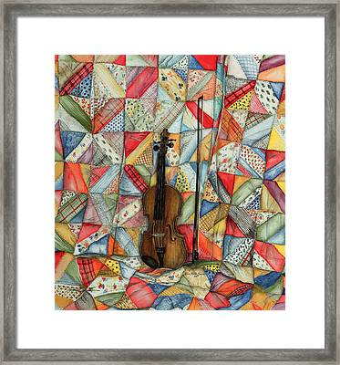 Warm Melodies Framed Print by Robin Martin Parrish