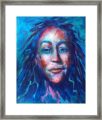 Warrior Goddess Framed Print by Shannon Grissom