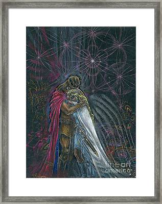 Warriors Of Infinity Framed Print by Tatiana Kiselyova