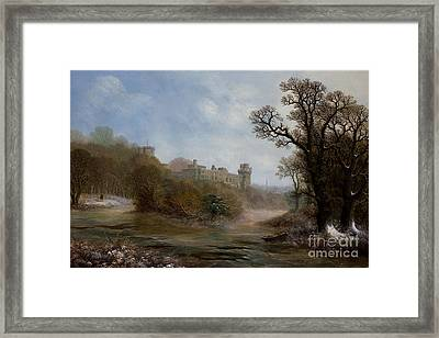 Warwick Castle- The South Face Framed Print by MotionAge Designs