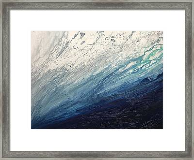 Wash Over Me Framed Print by Stephanie Paige