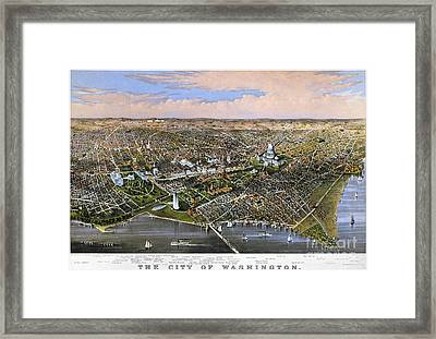 Washington, D.c., 1880 Framed Print by Granger