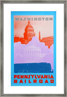 Washington Dc Iv Framed Print by David Studwell