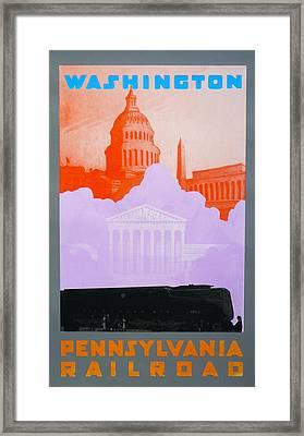 Washington Dc Vi Framed Print by David Studwell