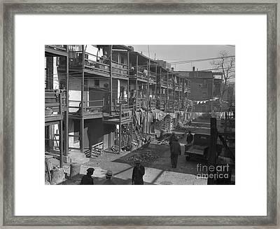 Washington Slum, 1935 Framed Print by Granger
