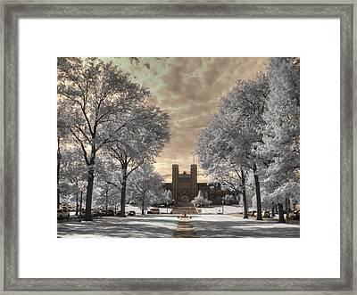 Washington University Framed Print by Jane Linders
