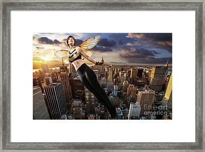 Wasp Framed Print by Ian MacDonald