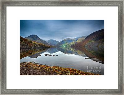 Wast Water Framed Print by Stephen Smith