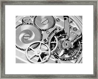 Watch Works Framed Print by Jim Hughes