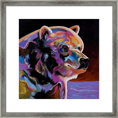Watching For The Catch Framed Print by Bob Coonts
