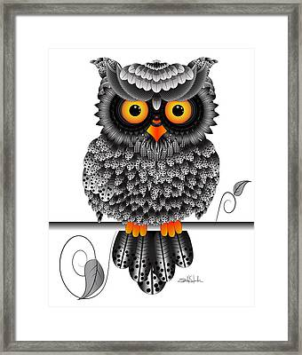 Watching You Framed Print by Isabel Salvador