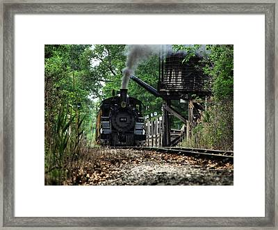 Water And Steam Framed Print by Scott Hovind
