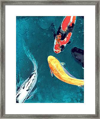Water Ballet Framed Print by Brazen Edwards
