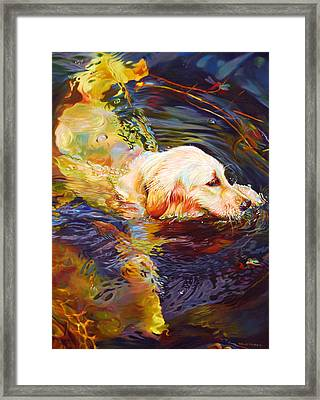 Water Dance 2 Framed Print by Kelly McNeil