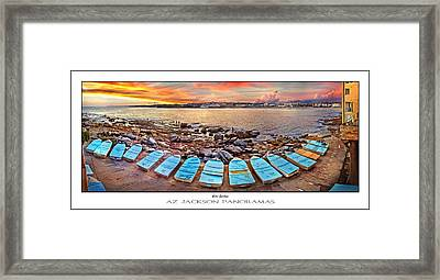 Water Guardians Poster Print Framed Print by Az Jackson