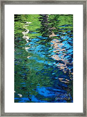 Water Reflections Framed Print by Bill Brennan - Printscapes