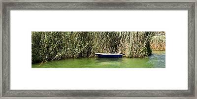 Water Scene Pano Framed Print by Svetlana Sewell