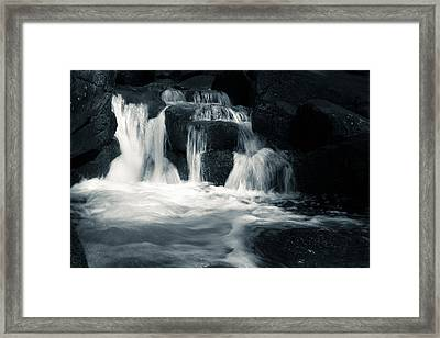 Water Stair Framed Print by Andreas Levi