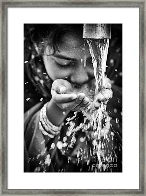 Water  Framed Print by Tim Gainey