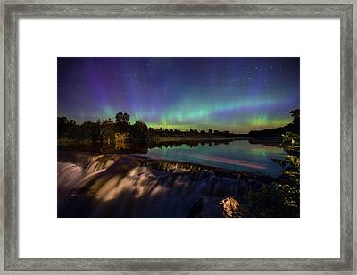 Watercolors Framed Print by Aaron J Groen