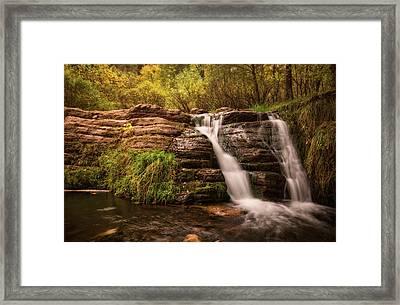 Waterfall  Framed Print by Saija Lehtonen