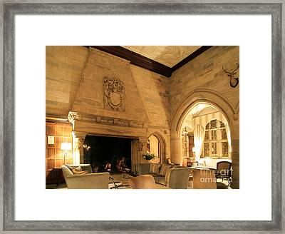 Waterford Castle Hotel, Waterford Ireland Framed Print by Ros Drinkwater