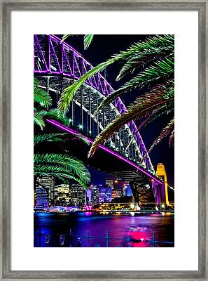 Waterfront Romance Framed Print by Az Jackson