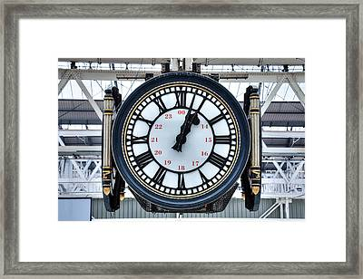 Waterloo Station - London Framed Print by Joana Kruse