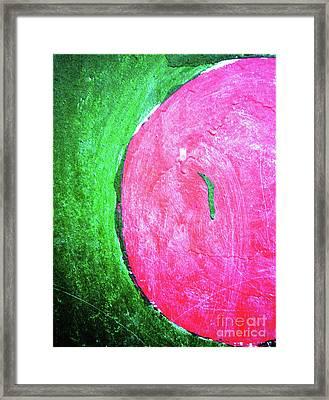 Watermelon Framed Print by Inessa Burlak
