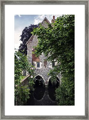 Watermill Framed Print by Joana Kruse