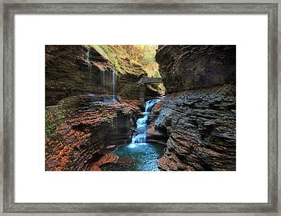 Watkins Glen Framed Print by Jessica Jenney