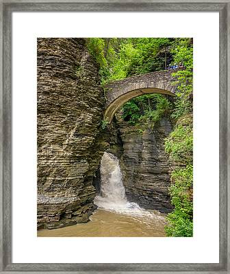Watkins Glen Framed Print by Steve Harrington