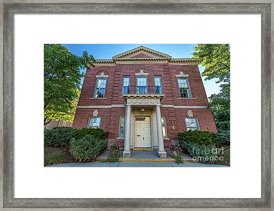 Wauwatosa Womens Club Framed Print by Andrew Slater