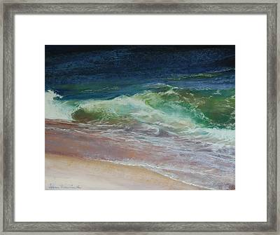 Wauwinet Wave IIi Framed Print by Jeanne Rosier Smith
